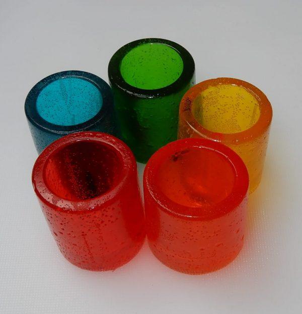gummie shots vasos comestibles