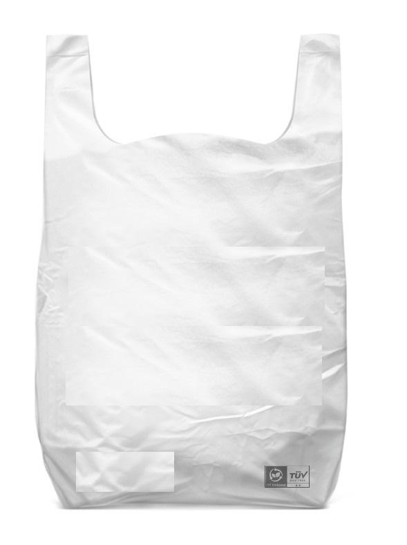 Funda bolsa almidon de maiz biodegradable