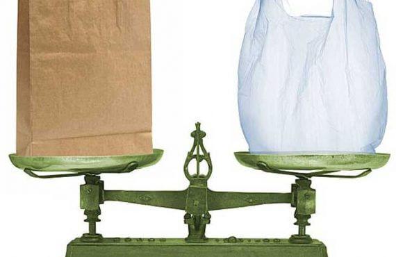 fundas de papel o de plastico