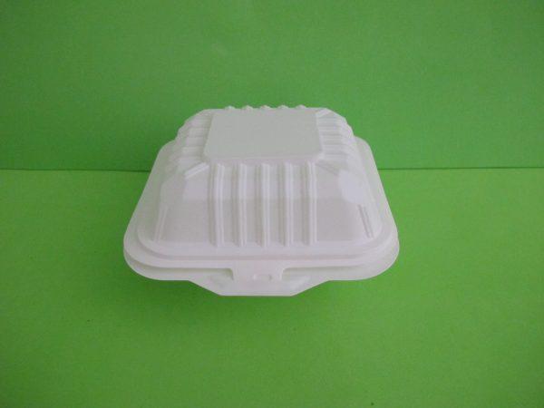 contenedor 6 pulg almidon de maiz cerrado