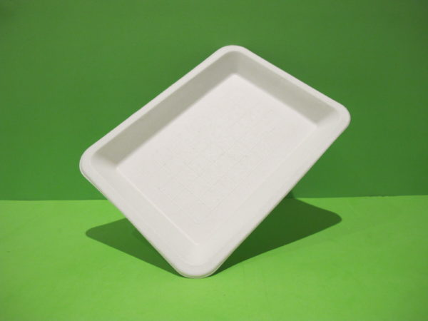 bandeja bagazo de caña biodegradable