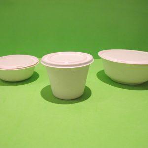 Bowls Bagazo de caña Biodegradables