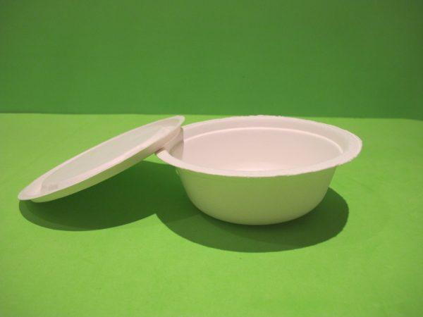 recipiente 350 ml bagazo de caña biodegradable