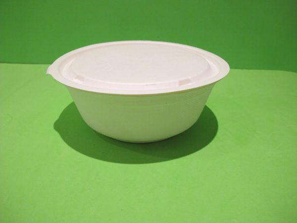 recipiente 950 ml bagazo de caña biodegradable