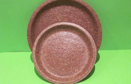 Platos Comestibles – Salvado de trigo