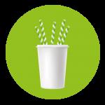 sorbetes biodegradables