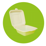 contenedores biodegradables