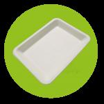 bandejas biodegradables