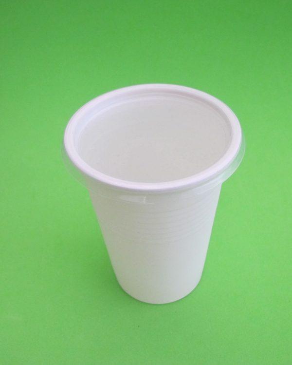 vaso almidon maiz + tapa plastica 4
