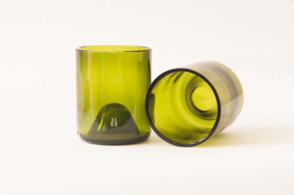 vasos de botellas de vidrio 3