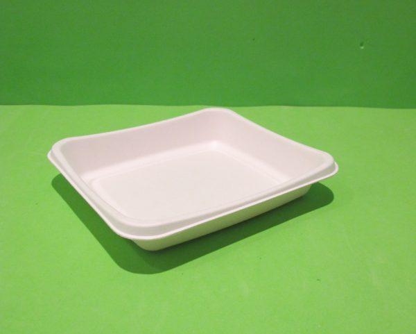 Bandeja plato rectangular bagazo de caña 2