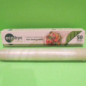 Papel film biodegradable de uso alimenticio