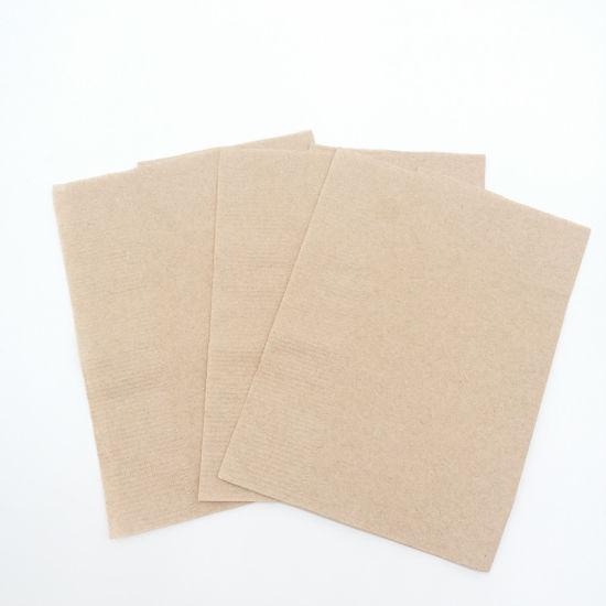 servilletas beige eco 12x12 cm