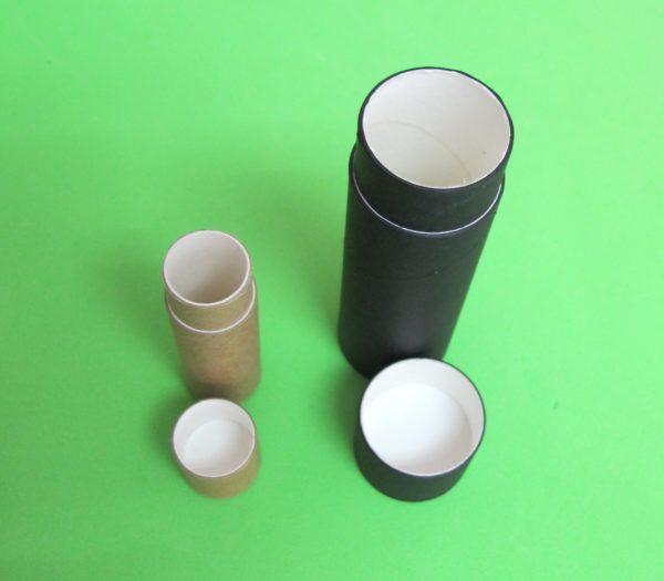 tubos de papel kraft tipo push up