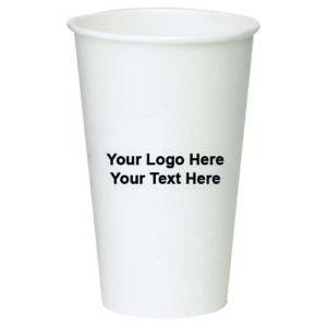vaso de papel personalizable