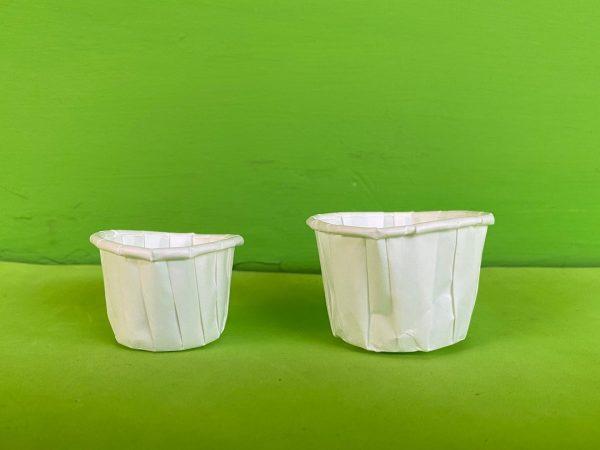 copas salseras de papel